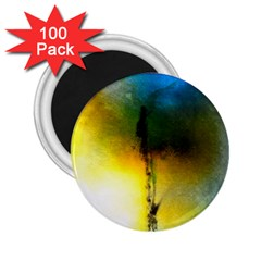 Watercolor Abstract 2.25  Magnets (100 pack)