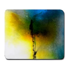 Watercolor Abstract Large Mousepads