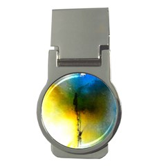 Watercolor Abstract Money Clips (Round)