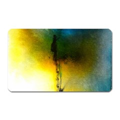 Watercolor Abstract Magnet (Rectangular)