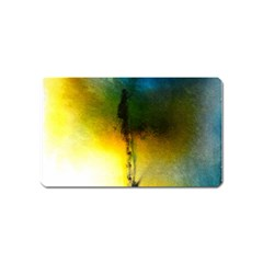 Watercolor Abstract Magnet (Name Card)