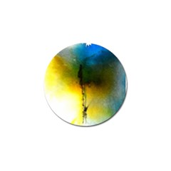 Watercolor Abstract Golf Ball Marker