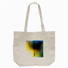 Watercolor Abstract Tote Bag (Cream)
