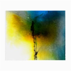 Watercolor Abstract Small Glasses Cloth