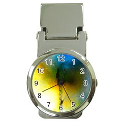 Watercolor Abstract Money Clip Watches