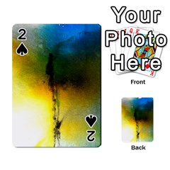 Watercolor Abstract Playing Cards 54 Designs