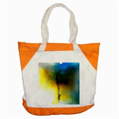 Watercolor Abstract Accent Tote Bag