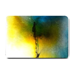 Watercolor Abstract Small Doormat