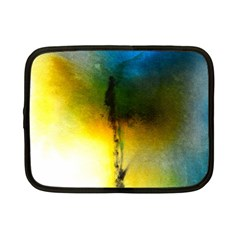 Watercolor Abstract Netbook Case (Small)