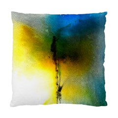 Watercolor Abstract Standard Cushion Case (One Side)
