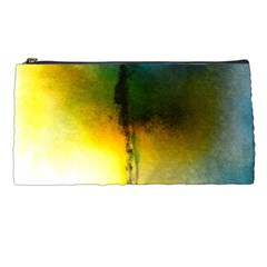 Watercolor Abstract Pencil Cases
