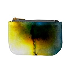 Watercolor Abstract Mini Coin Purses