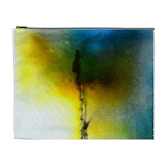 Watercolor Abstract Cosmetic Bag (XL)