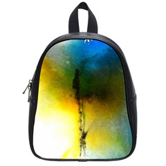 Watercolor Abstract School Bags (Small)