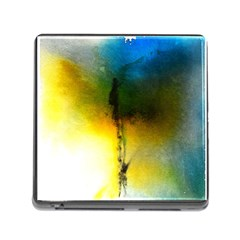 Watercolor Abstract Memory Card Reader (Square)