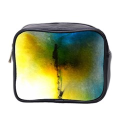 Watercolor Abstract Mini Toiletries Bag 2-Side