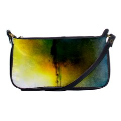 Watercolor Abstract Shoulder Clutch Bags