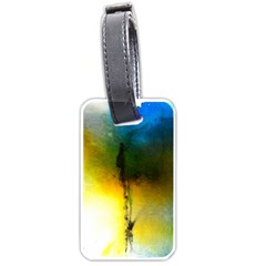 Watercolor Abstract Luggage Tags (One Side)