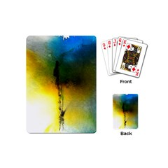 Watercolor Abstract Playing Cards (Mini)