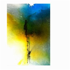 Watercolor Abstract Large Garden Flag (Two Sides)