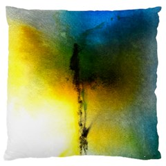 Watercolor Abstract Large Cushion Cases (One Side)