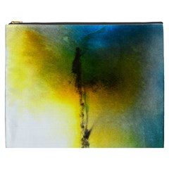 Watercolor Abstract Cosmetic Bag (XXXL)