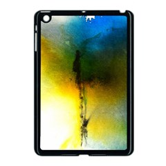 Watercolor Abstract Apple iPad Mini Case (Black)