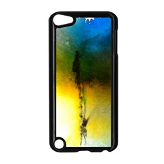 Watercolor Abstract Apple iPod Touch 5 Case (Black)