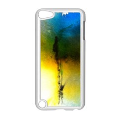 Watercolor Abstract Apple iPod Touch 5 Case (White)