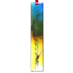 Watercolor Abstract Large Book Marks
