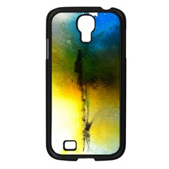 Watercolor Abstract Samsung Galaxy S4 I9500/ I9505 Case (Black)