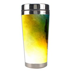 Watercolor Abstract Stainless Steel Travel Tumblers