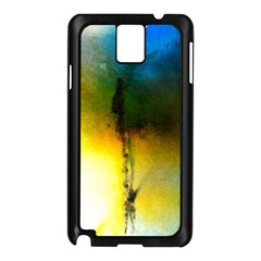 Watercolor Abstract Samsung Galaxy Note 3 N9005 Case (Black)