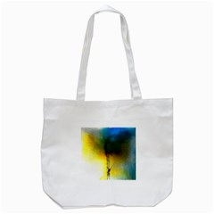 Watercolor Abstract Tote Bag (White)