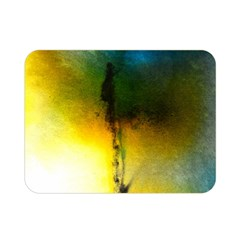 Watercolor Abstract Double Sided Flano Blanket (Mini)