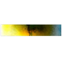 Watercolor Abstract Flano Scarf (Large)