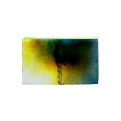 Watercolor Abstract Cosmetic Bag (XS)