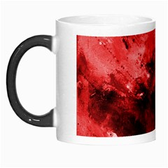 Red Abstract Morph Mugs by timelessartoncanvas