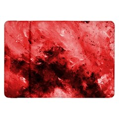Red Abstract Samsung Galaxy Tab 8 9  P7300 Flip Case by timelessartoncanvas