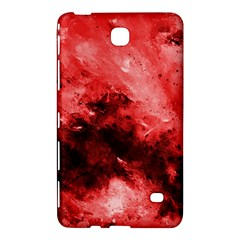 Red Abstract Samsung Galaxy Tab 4 (8 ) Hardshell Case  by timelessartoncanvas