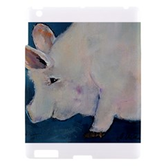 Piggy No  2 Apple Ipad 3/4 Hardshell Case by timelessartoncanvas