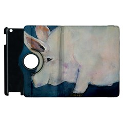 Piggy No  2 Apple Ipad 2 Flip 360 Case by timelessartoncanvas