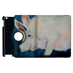 Piggy No  2 Apple Ipad 3/4 Flip 360 Case by timelessartoncanvas