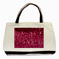 Pink Cubes Basic Tote Bag