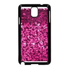Pink Cubes Samsung Galaxy Note 3 Neo Hardshell Case (black) by timelessartoncanvas