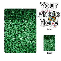Green Cubes Multi Purpose Cards (rectangle)