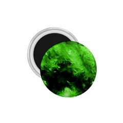 Bright Green Abstract 1 75  Magnets