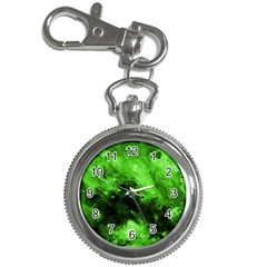 Bright Green Abstract Key Chain Watches