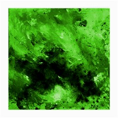 Bright Green Abstract Medium Glasses Cloth (2 Side)