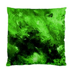 Bright Green Abstract Standard Cushion Cases (two Sides)